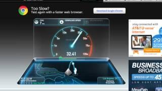 Charter Internet Plus 30 mbps speedtest