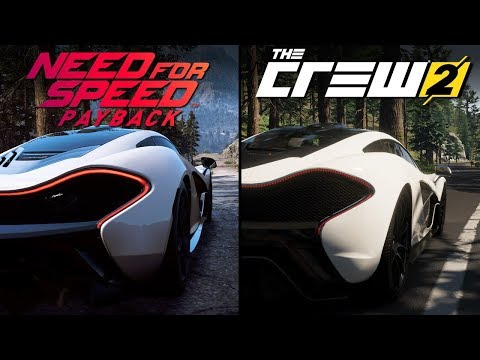 Need For Speed Payback Vs The Crew 2