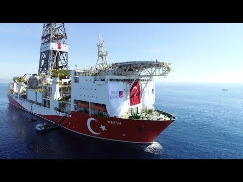 Fatih gemisi Akdeniz'de ilk sondajına başlıyor