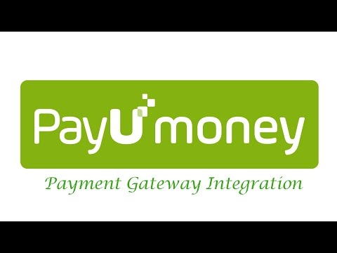 Integration of PayUmoney Payment Gateway Easily - YouTube