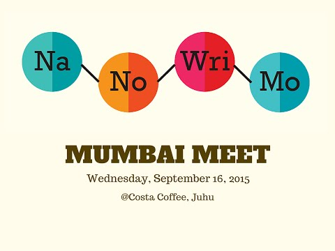 First ever televised meetup of Wrimo India in Mumbai