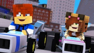 Minecraft Daycare -  RACING TINA !? (Minecraft Roleplay)