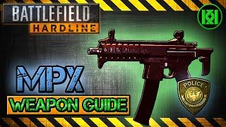 battlefield hardline mpx review gameplay best gun setup   weapon guide bfh