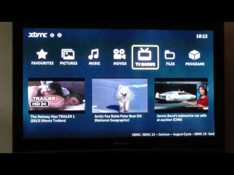 Boxee box booting and running XBMC