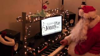 "Santa Claus plays ""Jingle Bells"" like you"