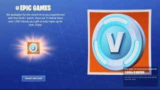 Fortnite Gives us 1000 Turkeys and 15 Free Battle Pass Levels for this Error...