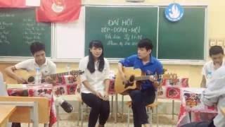 Lá Cờ Cover Guitar _ Khoa Vật Lý ĐH Sư Phạm Thái Nguyên .
