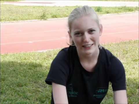 Steenbok RunningTeam: Stage 2011 interview Lotte Krause
