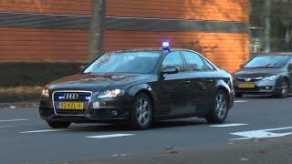 PRIO 1 undercover politie met spoed door Rotterdam