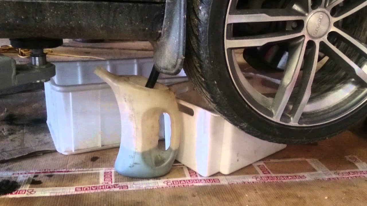 mercedes w211 automatic oil change and cleaning 200 220 ...