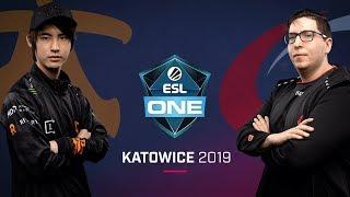 Dota 2 - Fnatic vs. compLexity - Game 2 - Group B R4 - ESL One Katowice 2019