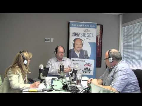 Ron Siegel Radio: Guests Marc Brener and Eileen Oldroyd - Aug 27 2015