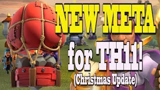 *NEW STONE SLAMMER META!* Christmas Update Clash of Clans | Unleash TH11 Queen Walk Miner