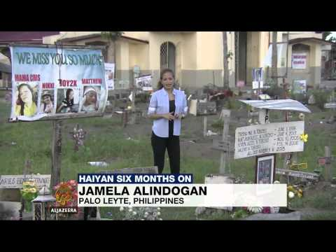 Philippines' Typhoon Haiyan six months on