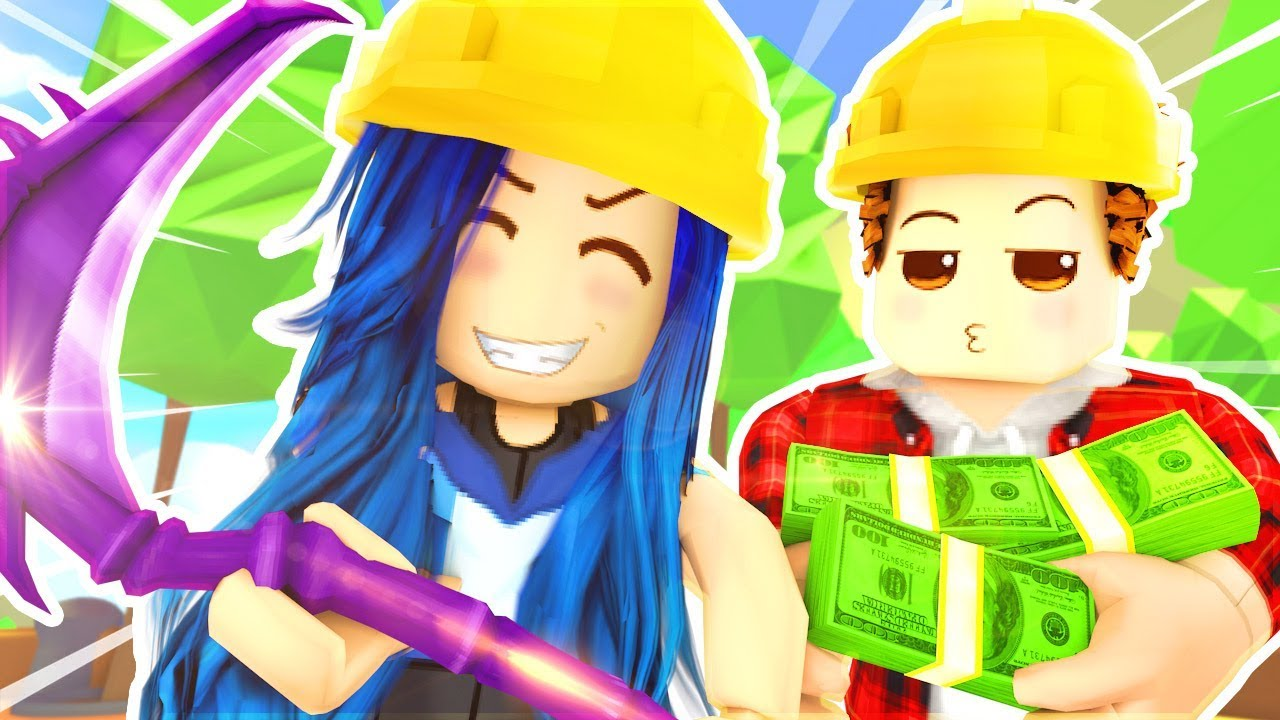 BUYING THE MOST EXPENSIVE PICKAXE! ROBLOX MINING SIMULATOR!
