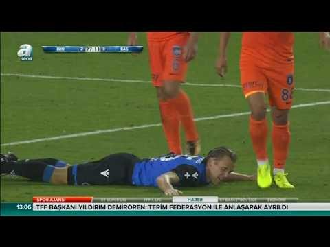 Club Brugge 3-3 Başakşehir Şampiyonlar Ligi 3. ön eleme   26.07.2017 A Spor Özet HD
