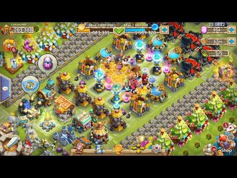 Castle Clash 200k Might Account $$