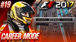 F1 2017 Career Mode Part 19: SEASON 1 FINALE