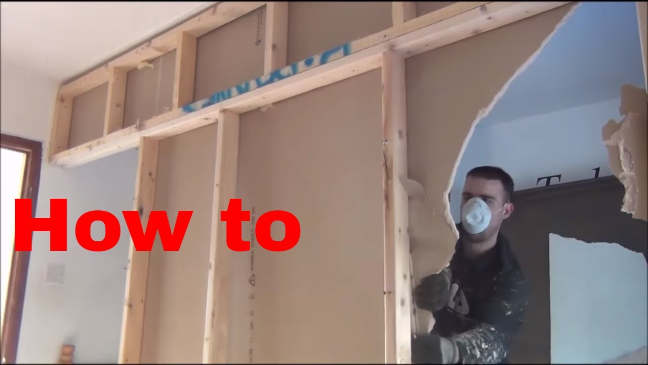 Attractive How To Remove A Stud Wall Non Load Bearing Wall NEW