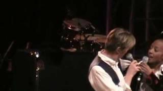 David Bowie & Gail Ann Dorsey