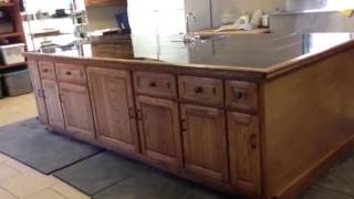Pastor Dowell: Custom Kitchen Island