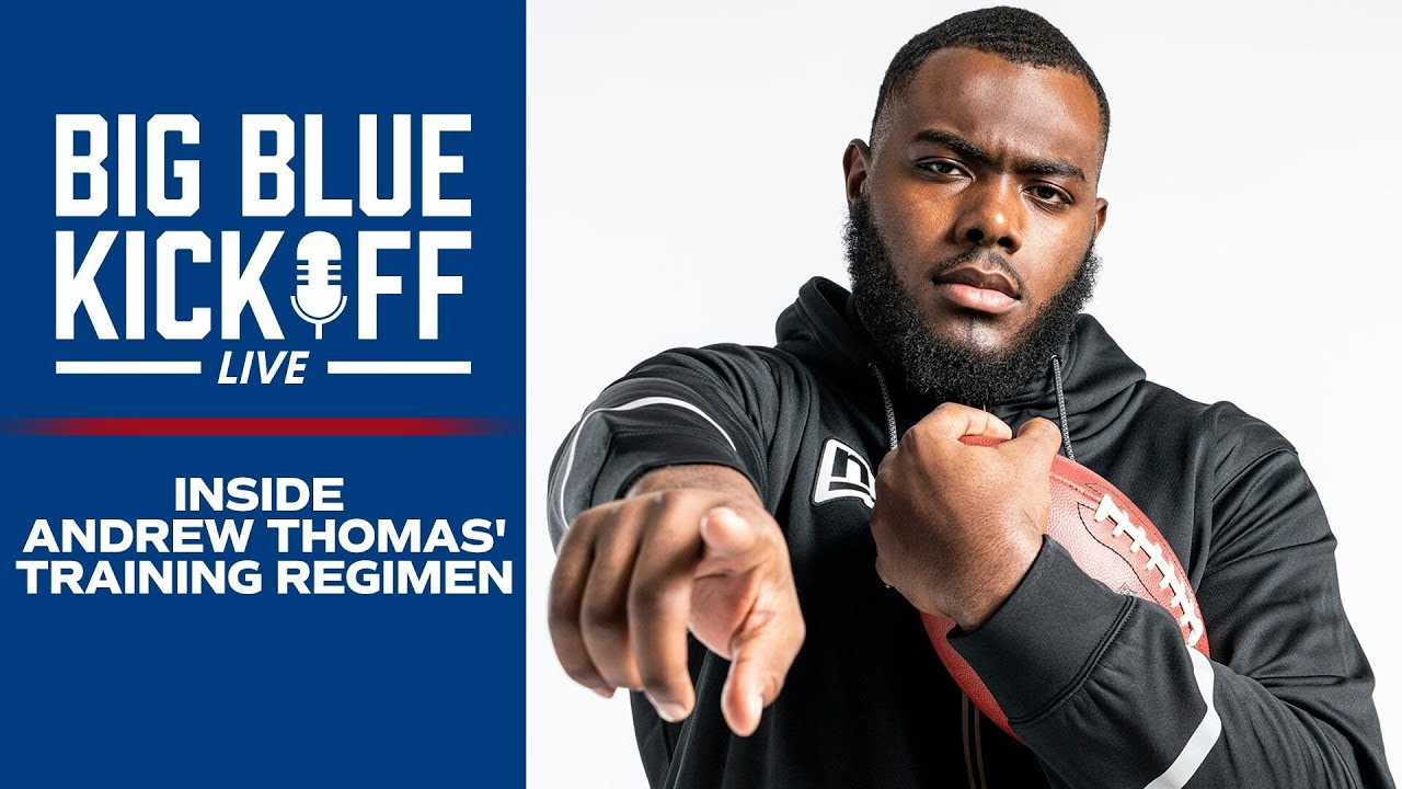 Inside Andrew Thomas' Offseason Training Program | New York Giants