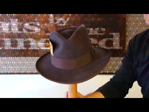Indiana Jones Wide Brim Fur Felt Hat