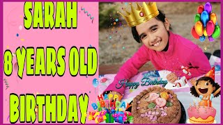 Download lagu SARAH 8 YEARS OLD BIRTHDAY. SIMPLE CELEBRATION OUTSIDE WITH FRIENDS// #THE WALERIUS FAMILY