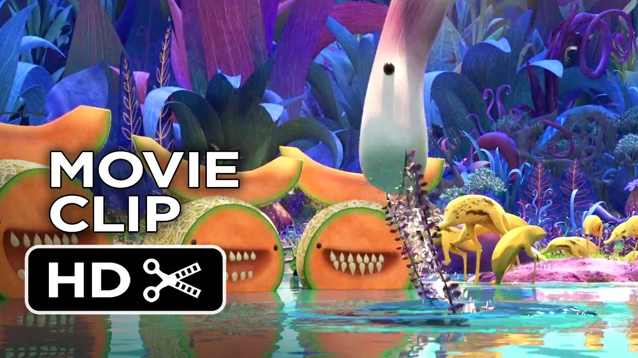 cloudy with a chance of meatballs 2 movie clip foodimals 2013