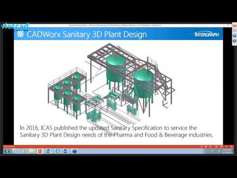 Intergraph CADWorx in the Food, Pharma & Semiconductor Industries
