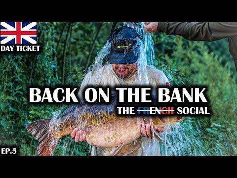 FARLOWS LAKE PACKED! STOUR VALLEY LOGGIES LAKE | THE SOCIAL - BACKONTHEBANK EP.5 - CARP FISHING