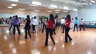 Out & Jump - Line Dance (Dance & Walk Through)