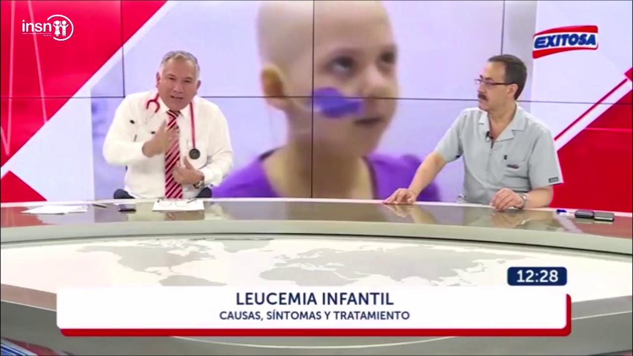 cuales son los primeros sintomas de la leucemia en niños