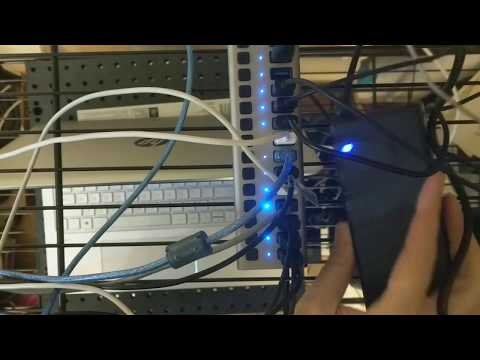 OpenSTF - Powered USB Hub (16-port)