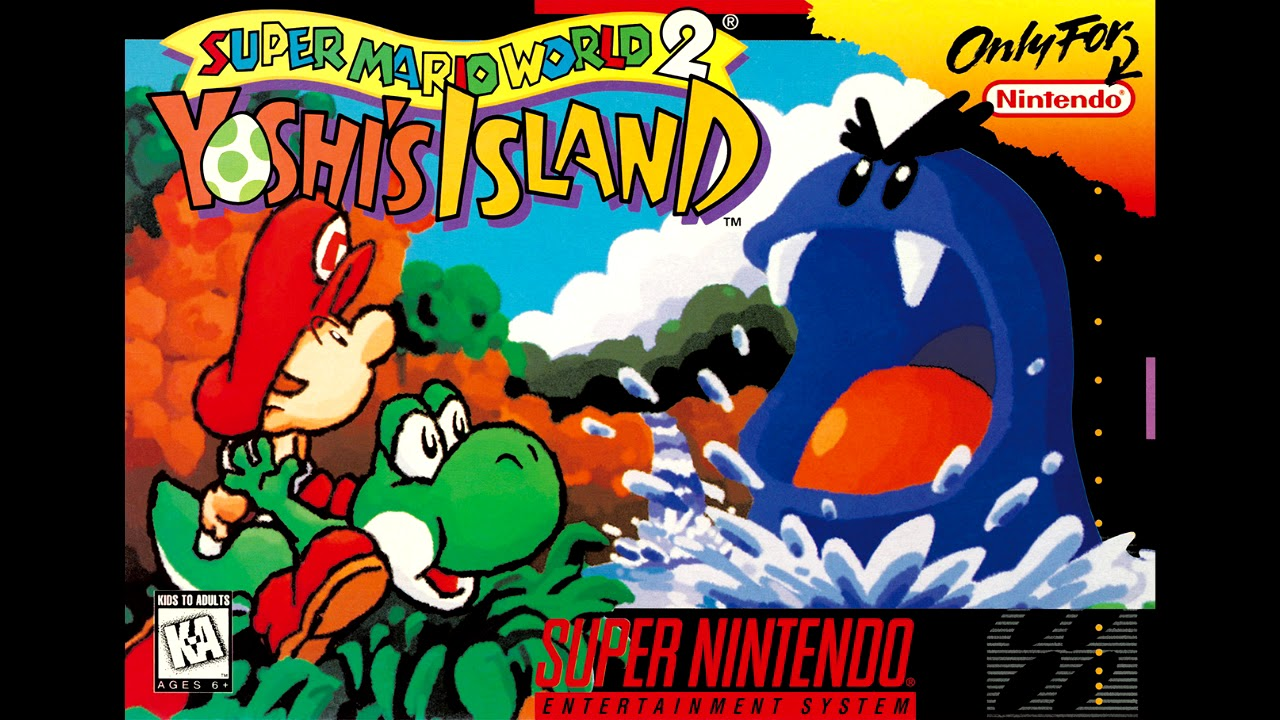Image result for yoshi's island cover