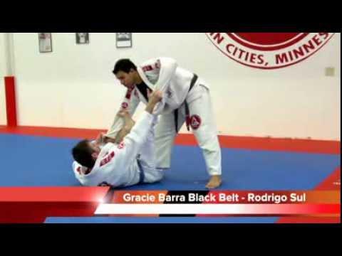 Brazilian Jiu Jitsu Video: Guard Passing - Spider Guard Pass when Feet on Biceps with Rodrigo Sul
