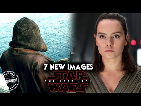 Star Wars The Last Jedi 7 NEW Images Revealed! Luke, Rey, Leia & More! Exciting News