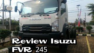 Review Izusu Giga FVR 245 Manual 6speed 2018 Indonesia