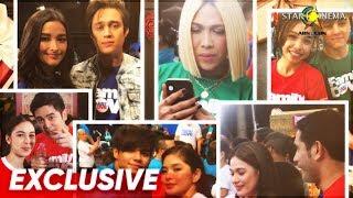 Star Cinema celebs, nakisaya sa ABS-CBN Christmas Station ID 2018!