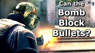 CS GO: Can bullets be blocked with thrown items? thumbnail
