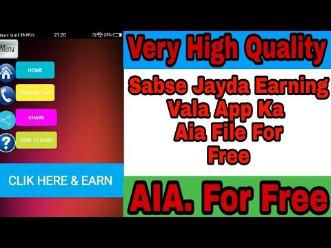 Very High Quality Aia Files For free | Sabse jayda earning vale aia files