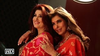 Dimple & Twinkle Khanna Shoot For Jewellery Brand