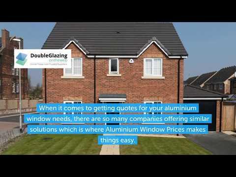 Aluminium Window Prices | Aluminium Window Quotes UK