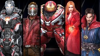 Marvel: Future Fight - All Wave 2 Infinity War Uniforms