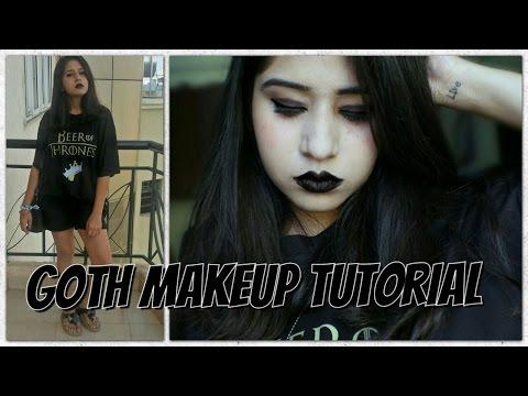 Goth Makeup Tutorial | Chandni Dialani