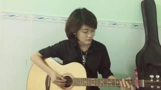 Người con gái ta thương - Hà Anh Tuấn - guitar cover Trần Diệu Trang