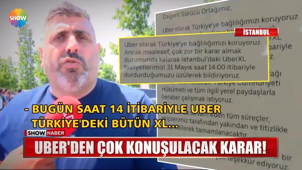 Uber XL Türkiye İptal Oldu! Şoförler İsyan Ediyor..