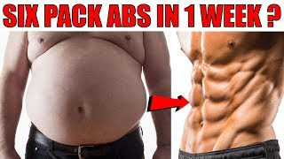 Best Tips To Get Six Pack Abs Fast