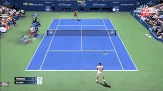 Tennis Elbow 2013   Federer vs Raonic US Open 2015