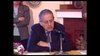René Favaloro en la Fundación Ezequiel Martínez Estrada - UNS